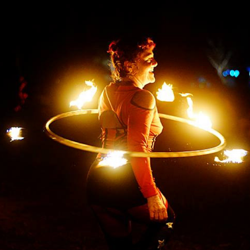 Fire Hoop - Onur Karaozbek Photography - 800 x 800