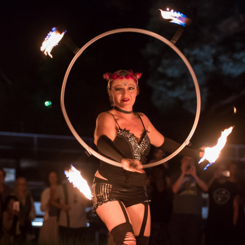 Fire Hoop - Prema Photo 2018 - 800 x 800