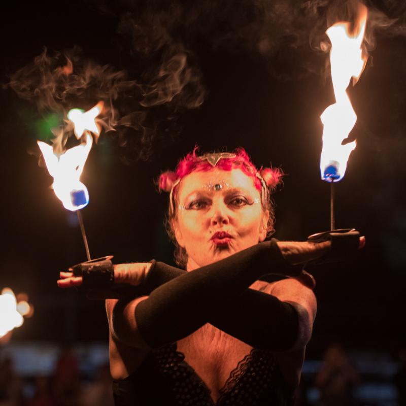Fire Palm Candles - Prema Photo 2018 - 800 x 800