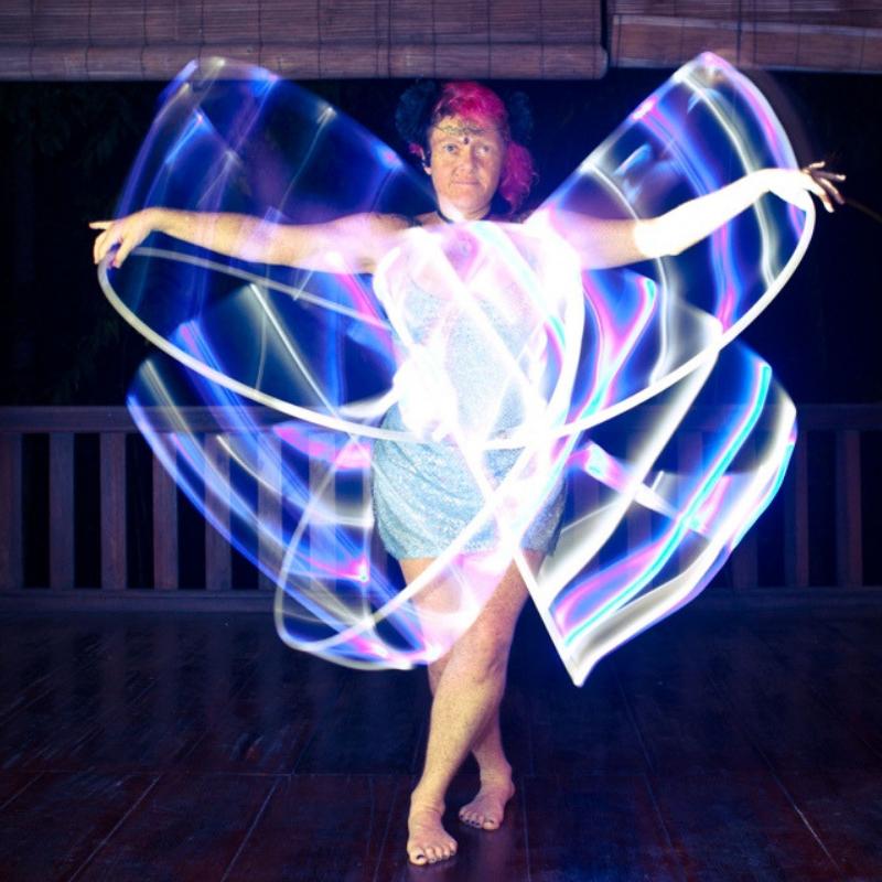 Jewelz A Hoopz - LED Butterfly - 800x800