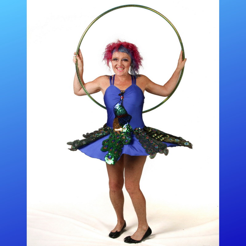 Jewelz A Hoopz - Peacock Dress- 800x800