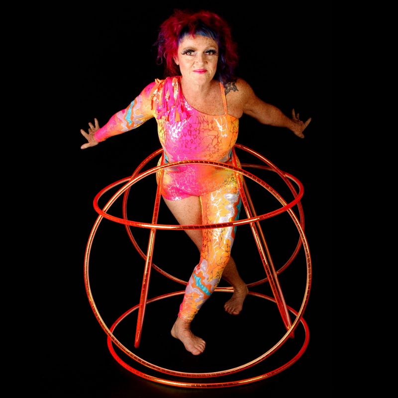 Jewelz A Hoopz - Standing in Hoop Cage - Aeon Costume- 800x800