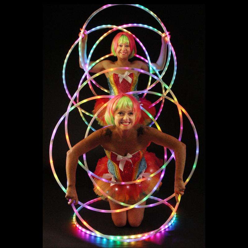 La La Sistarz - LED Hoop Flowers - 800x800